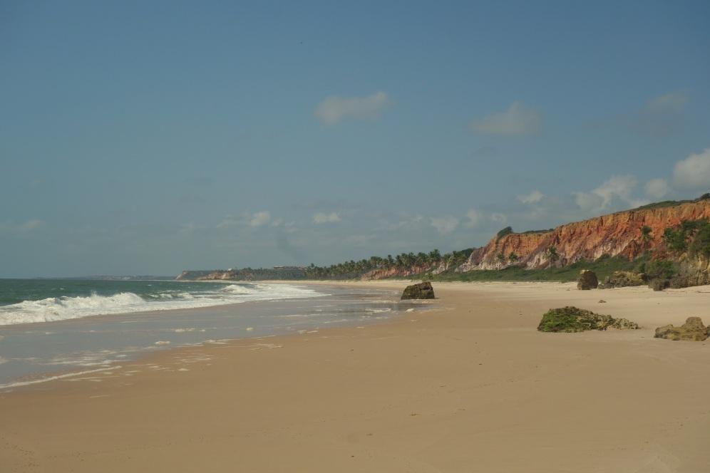 Nearby beach where the waves were taller than me