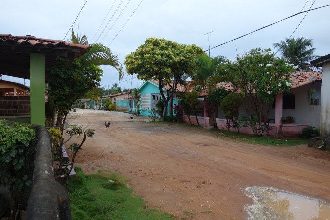 The steet we lived on, Barra de Mamanguape