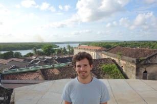 On the rooftops by the historical centre of João Pessoa