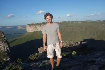 On top of morro do Pai Inácio
