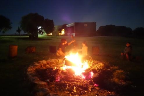 Bonfire for Easter