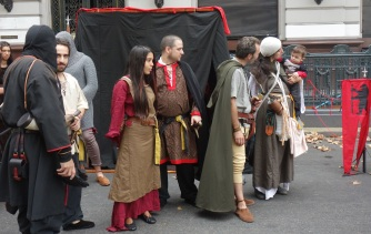 Medieval themed gathering in BA (I have no idea why)