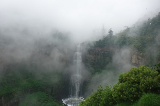 Misty day by Tequendama Falls