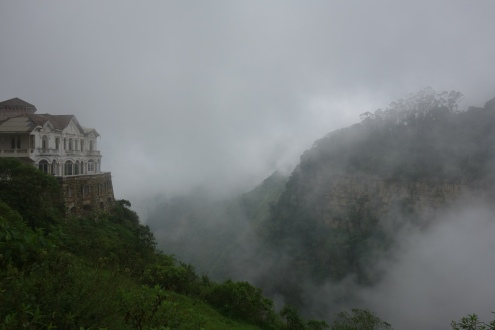 The haunted hotel of Tequendama Falls