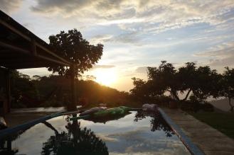 Sunset at Casa Elemento